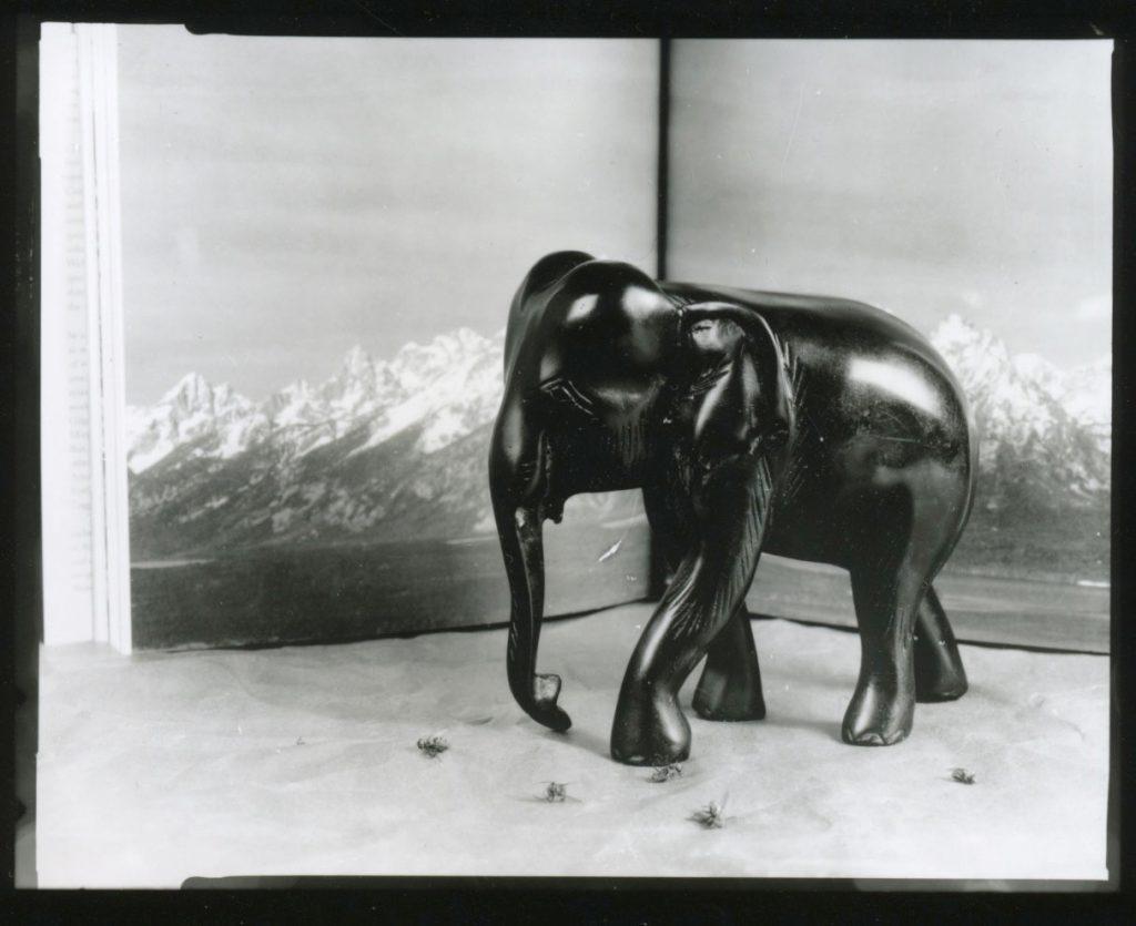 photo of elephant sculpture