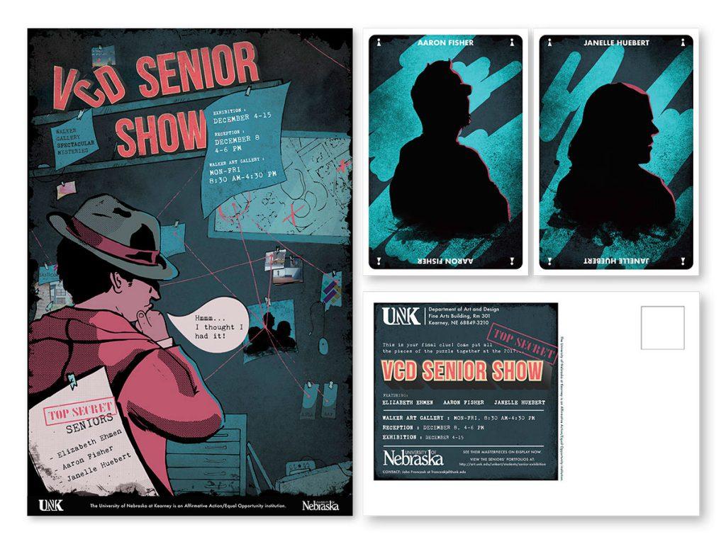 VCD Senior Show poster