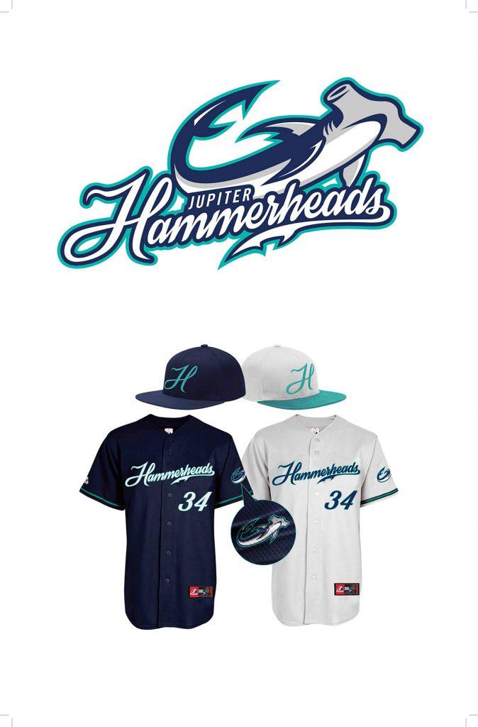 Jupiter Hammerheads logo and application