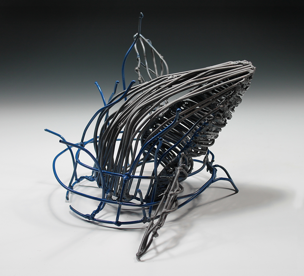 abstract student scultupre