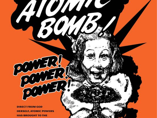 Atomic Bomb poster by Dan May