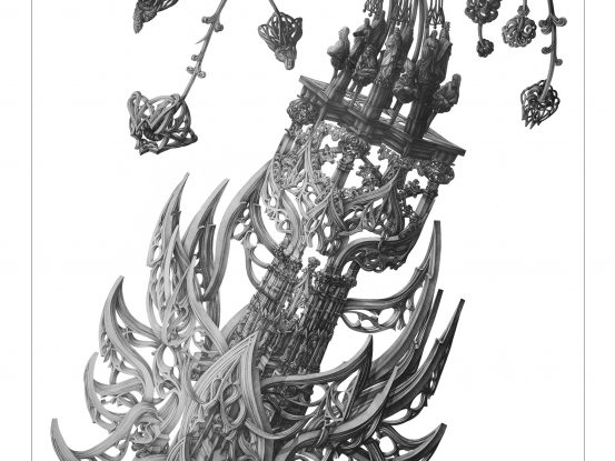 Stone Flower II by Victoria Goro-Rapoport