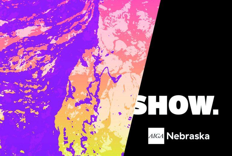 AIGA NE Show poster image