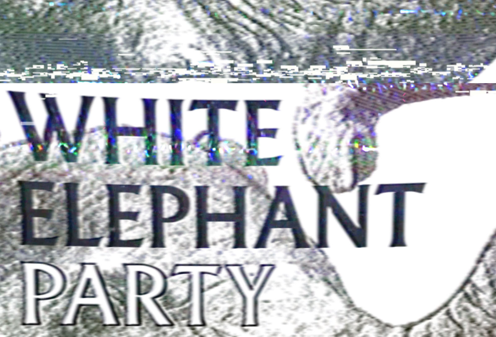White Elephant Party announcement