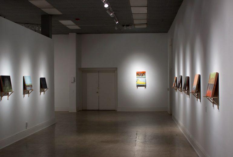 work by Matt Ziemke in art gallery