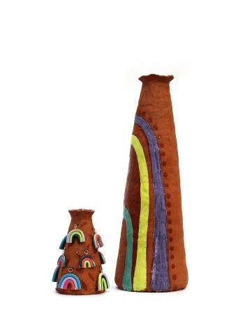 Ceramic work by Jaden Estes Carlson