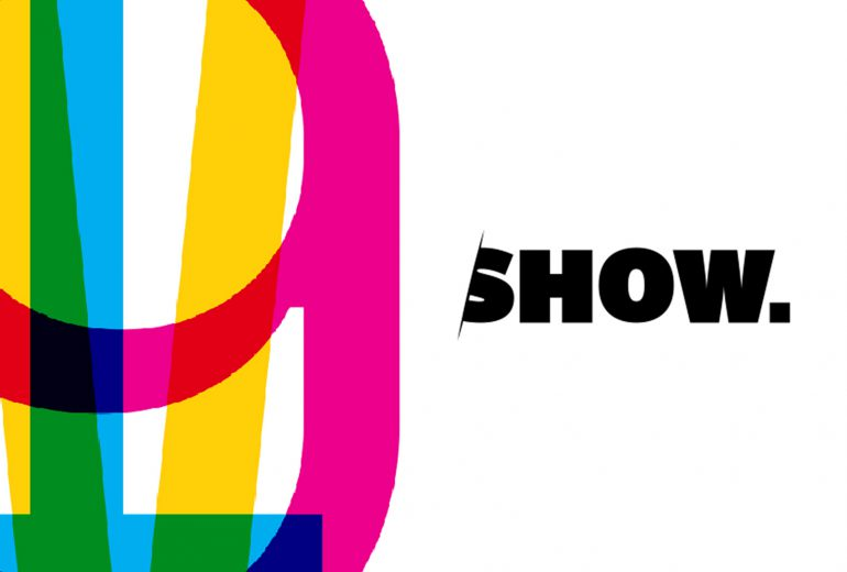logo for AIGA NE Show